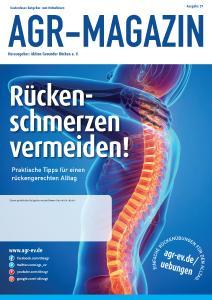 AGR-Magazin – kostenloser Ratgeber für mehr Rückengesundheit im Alltag.