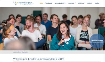 Willkommen bei der Sommerakademie 2019!
