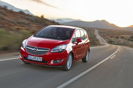 Erfolgreicher Opel Meriva: Der kompakte Van behauptete im August und in den ersten acht Monaten des Jahres die Spitzenposition in seinem Segment