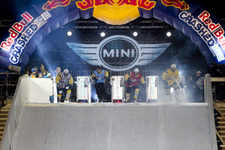 Fabian Mels (GER) wins MINI Rookie Award at Red Bull Crashed Ice event in Munich