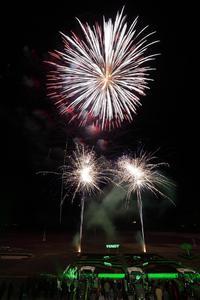 Der königliche und krönende Abschluss des Abends war das speziell inszenierte Feuerwerk mit atemberaubender Musikuntermahlung