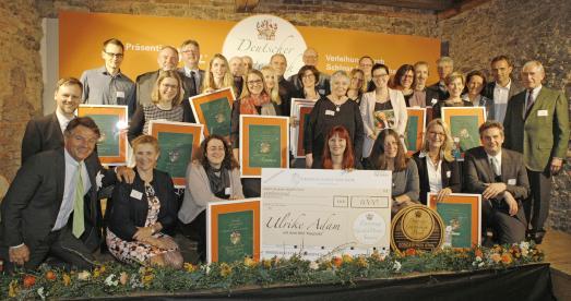 Preisträger 2017 Gruppenbild