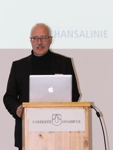 Prof. Dr. Joachim W. Härtling, Vizepräsident für Studium und Lehre der Universität Osnabrück