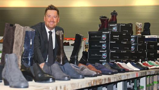Kay Zimmer, Gründer und Geschäftsführer von schuhplus Schuhe in Übergrößen.