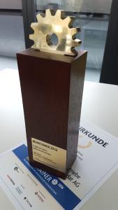 Der begehrte Maintainer-Award
