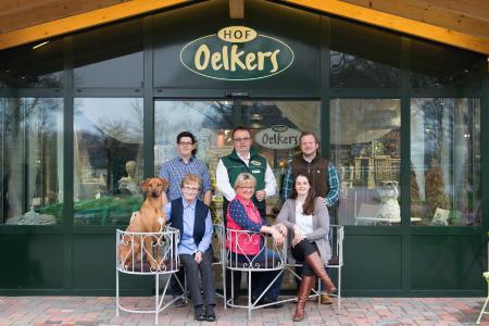 Die Familie Oelkers freut sich auf viele Gäste