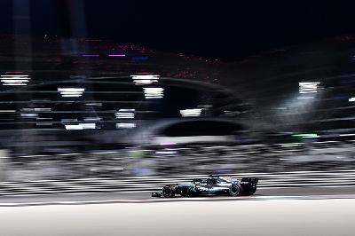 Valtteri Bottas (Mercedes GP) war heute Trainingsschnellster auf dem Yas Marina-Circuit.