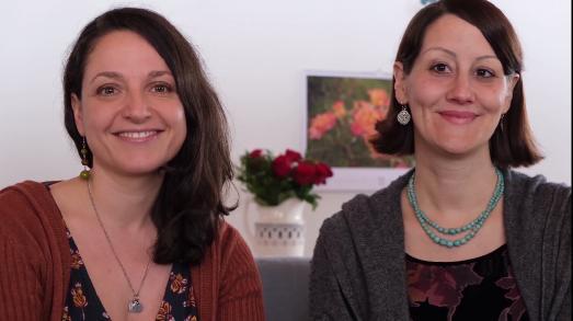 Anna Marguerita Schön und Marlene Mankau / Foto: © privat