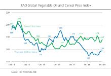 FAO vegetable oil price index climbed