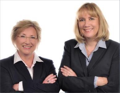 links Christine Schretter, rechts Sabine Hildebrandt-Woeckel