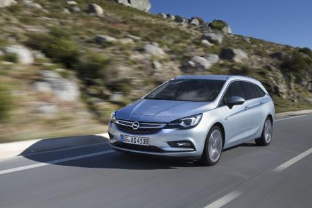 Auto des Jahres: Zum Anstieg der europaweiten Verkäufe trug vor allem der neue Opel Astra bei (im Bild der Astra Sports Tourer)