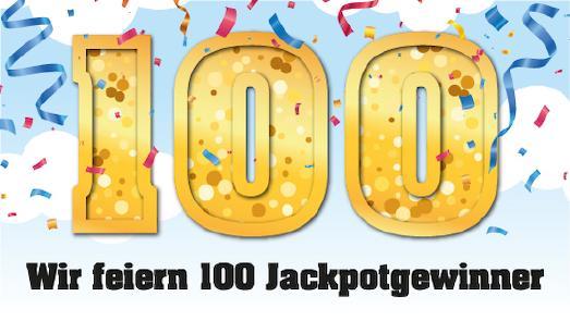 100 Jackpotgewinner gibt es inzwischen bei Eurojackpot. Grafik: WestLotto