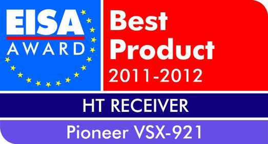 EISA Award Pioneer VSX 921