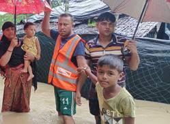 Monsun in Bangladesch: 32 Hilfsorganisationen fordern Unterstützung für Rohingya-Flüchtlinge