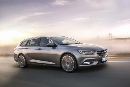 Emotionaler Eyecatcher: Der neue Opel Insignia Sports Tourer wirkt sportlicher, agiler und präsenter. Mit ihren athletischen Zügen stand die Studie Monza Concept Pate