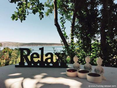 Rab und die Pension von Sonja und Franz bieten Reiki-Seminarteilnehmern ein besonderes Ambiente.