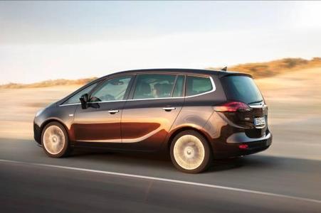 Der Opel Zafira Tourer mit völlig neuem Flex7-Sitzkonzept und weiteren Variabilitätsinnovationen