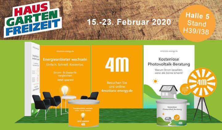 4motions Energy Neue Marke Stellt Sich Zur Haus Garten Freizeit Messe In Leipzig Vor 4motions Gmbh Pressemitteilung Lifepr