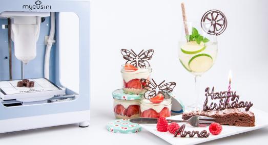 HobbybäckerInnen aufgepasst - 3D Schokoladendrucker mycusini