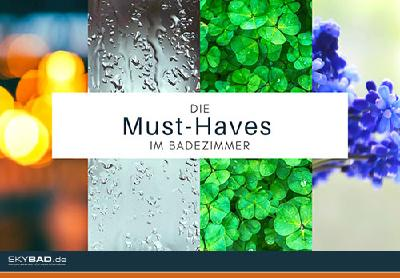 Die Must-Haves fürs Bad