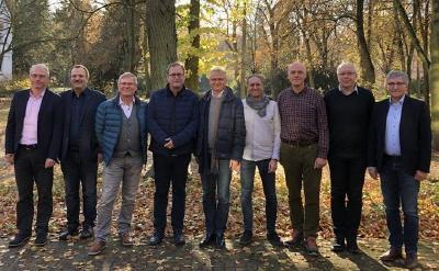 Präsidenten der regionalen und überregionalen Kirchenleitungen der Siebenten-Tags-Adventisten in Deutschland / © Foto: Nadine Ciesla/STA