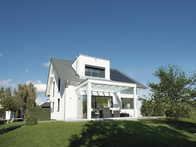 smartes haus mit sehr viel glas ausstellungshaus balance 250 in mannheim weberhaus gmbh co. Black Bedroom Furniture Sets. Home Design Ideas