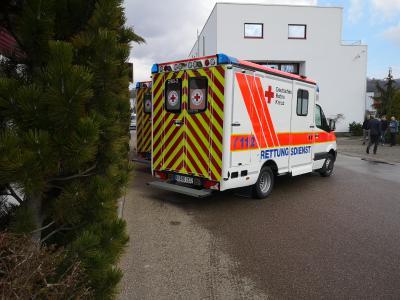 DRK-Kreisverband Karlsruhe e.V. bekommt drei neue Rettungstransportwagen