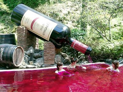 Wein, Kaffee, Sake, oder …? / Foto: Yunessan Spa Resort / HolidayCheck.de