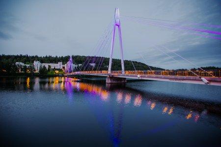 Jyväskylä - die illuminierte Stadt (c) Julia Kivelä