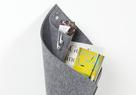 greybax CONE hang up felt bag: Everything in its own place