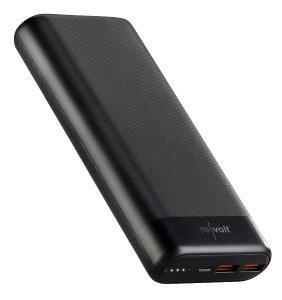 revolt USB-Powerbank PB-230.pd mit 20 Ah, Quick Charge und USB C PD bis 65 Watt