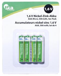 PX-8435 1 tka Nickel-Zink-Akku AAA Micro 1.6V 500 mAh 4er-Set