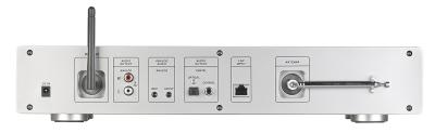 VR-Radio Digitaler WLAN-HiFi-Tuner IRS-711.HiFi mit Internetradio, DAB+, UKW, MP3, Alu-Optik