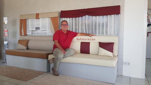 G+S Inhaber Gernot Schank blickt zufrieden auf die erfolgreiche Entwicklung seines Unternehmens / Foto: G+S