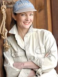 Angelika Gebhard, Mitgründerin der Gesellschaft zur Rettung der Delphine.