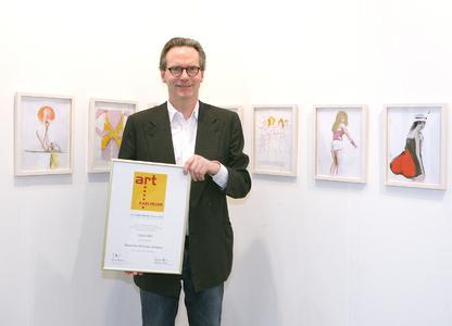 art KARLSRUHE-Preis 2012 geht an die One-Artist-Show der Stuttgarter Galerie Klaus Gerrit Friese zur Künstlerin Tatjana Doll