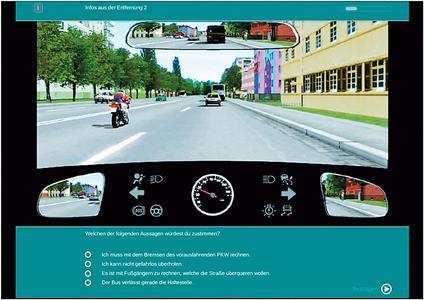 Fragestellung im Multiple Choice Format, Bild: Technische Universität Chemnitz