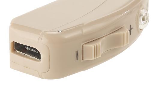 NX 8762 8 newgen medicals Akku HdO Hörverstärker HV 633 mit zwei Klangkulissen Modi 33 dB