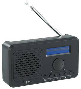 VR-Radio WLAN-Internetradio mit MP3-Streaming & UKW-Tuner IRS-520.WLAN