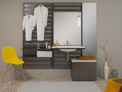 Sys30 Flex: Das innovative Möbelkonzept von burgbad in jungem, puristischem Design ist für eine flexible Nutzung geschaffen, Foto: burgbad