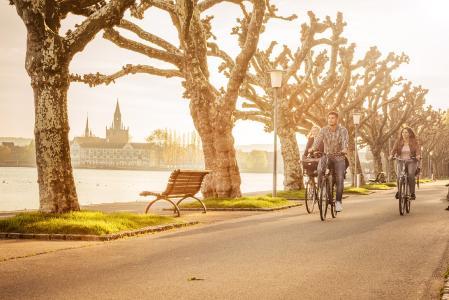 Radtour / Bildnachweis: Marketing und Tourismus Konstanz Schwelle