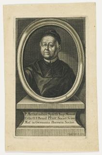 Kupferstich von Klauber (1752) / © Universitätsbibliothek Leipzig