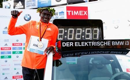 """Weltrekord beim """"Berlin Marathon"""" mit Gummitechnologie von"""