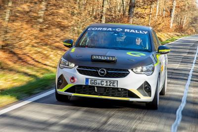 """Ready to race"": Der neue Opel Corsa-e Rally"