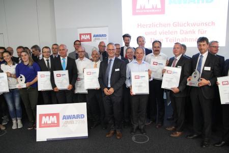 Die Gewinner der MM Awards auf der Internationalen Ausstellung für Metallbearbeitung (Quelle:MM Maschinenmarkt)