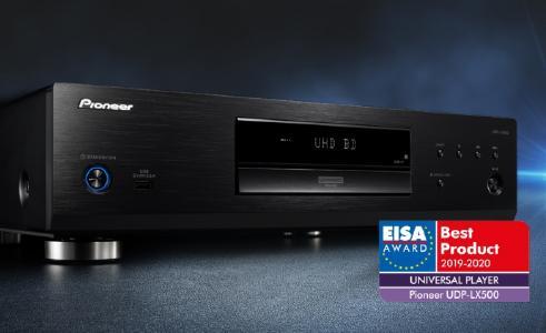 """EISA zeichnet Universal Disc Player von Pioneer mit dem """"Best Product Award"""" aus"""