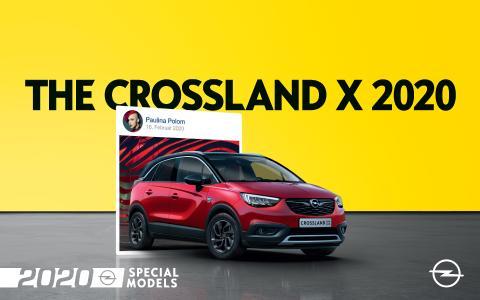 Opel Crossland X 2020 Special Models