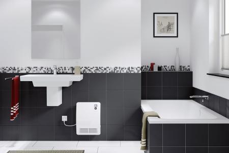 Mit dem Schnellheizer CK 20 Premium von STIEBEL ELTRON lässt sich morgens das Badezimmer in wenigen Sekunden auf Wohlfühltemperatur bringen