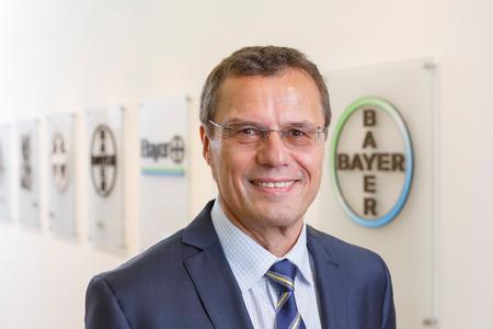 Dr. Klaus Jelich, Standortleiter Bayer Wuppertal