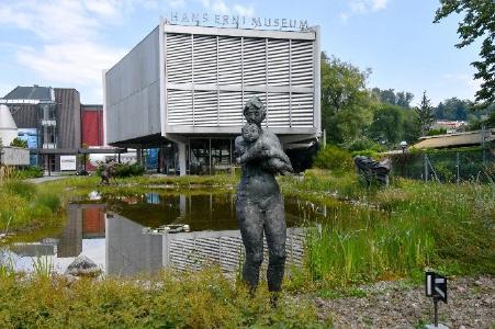 Aussenansichtenansicht des Hans Erni Museums © Foto Verkehrshaus der Schweiz